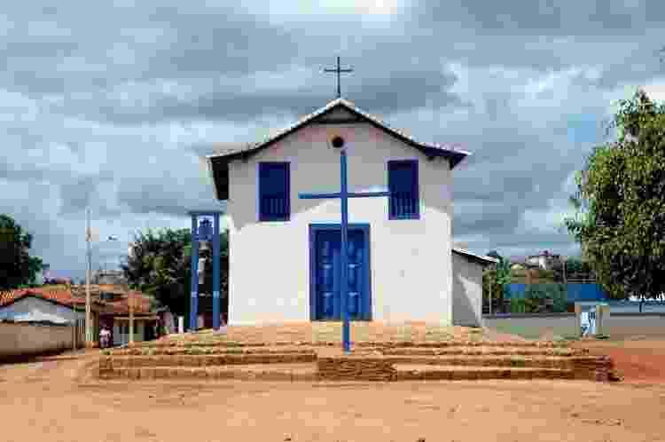 Capela de Nossa Senhora do Rosário - Izabel Chumbinho/Iepha MG - Izabel Chumbinho/Iepha MG