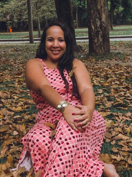 Jaqueline Chagas fundou um grupo no Facebook que hoje reúne cerca de 10 mil mulheres - arquivo pessoal