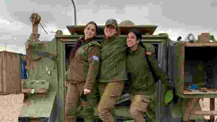 Mulheres no Exercito Israel - Arquivo pessoal - Arquivo pessoal
