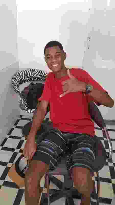 Jhordan Luiz foi morto após abordagem policial. Acusados estão presos - Arquivo pessoal - Arquivo pessoal