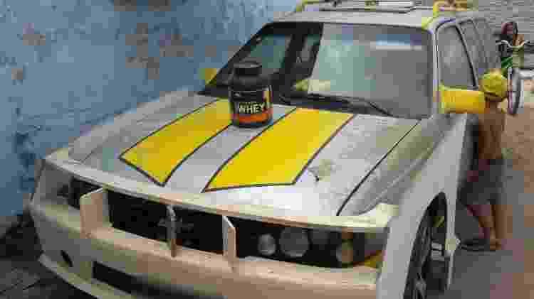 Chevrolet Ipanema no início dos trabalhos para se transformar na inédita perua do esportivo Camaro - Arquivo pessoal - Arquivo pessoal