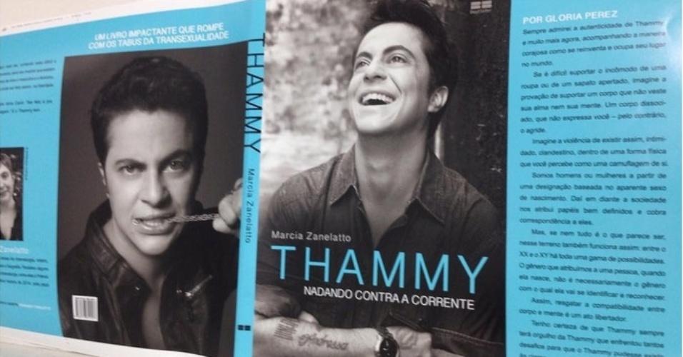 Thammy Mostra Capa De Biografia Com Texto De Gloria Perez