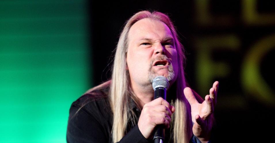A banda de heavy metal Pentakill foi a grande surpresa da final do CBLoL, que acontece neste sábado (8) em SP