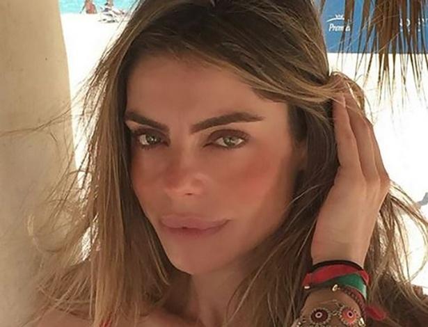 Internautas comentam possível mudança nos lábios de Daniella Cicarelli  - Reprodução/Instagram/@daniellacicarelli