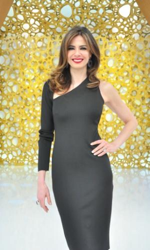 Luciana Gimenez, apresentadora dos programas