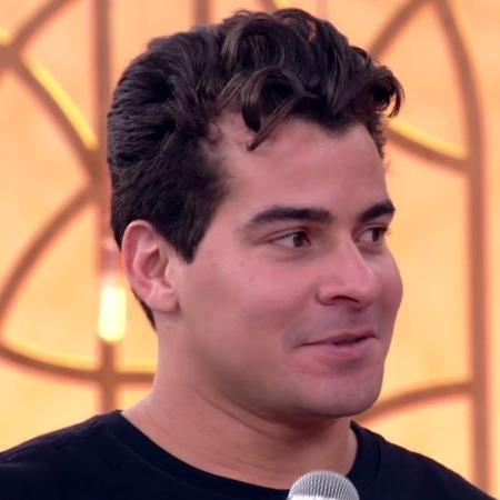 """Thiago Martins no """"Encontro com Fátima Bernardes"""" - Reprodução/TV Globo"""