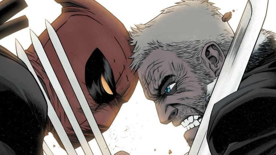 Deadpool vs Old Man Logan - Divulgação