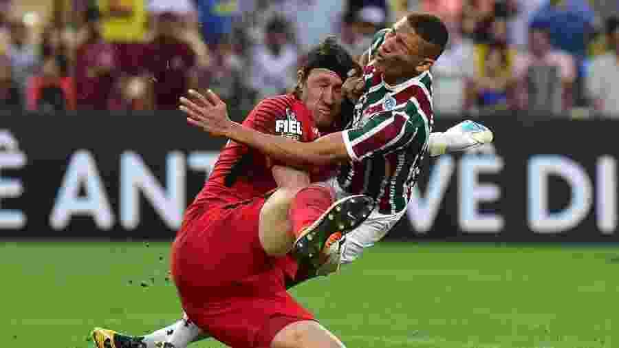 Fluminense vive momento ruim atuando no Rio de Janeiro - Thiago Ribeiro/Agif