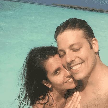 Fábio Porchat e Nataly Mega curtem lua de mel - Reprodução/Instagram/fabioporchat