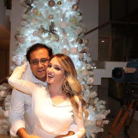 Geraldo Luis com a namorada, Sthepanie Pessanha - Reprodução/Instagram