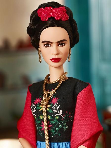 Barbie inspirada em Frida Kahlo virou motivo de disputa - Divulgação