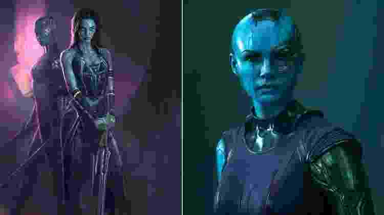 Design dos personagens femininos - Reprodução/Ryan Meinerding - Reprodução/Ryan Meinerding