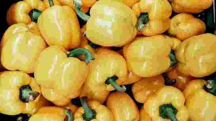 Pimentão amarelo - iStock - iStock