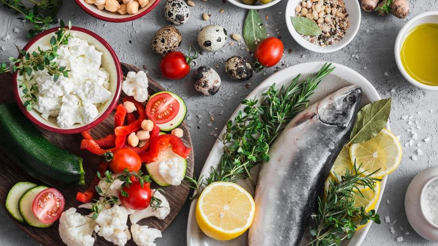 A dieta mediterrânea é rica em antioxidantes, que protegem o corpo da poluição - iStock