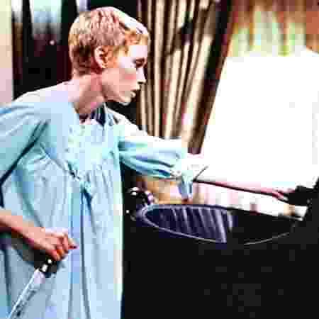 """Mia Farrow em cena do filme """"O Bebê de Rosemary"""" - Reprodução - Reprodução"""