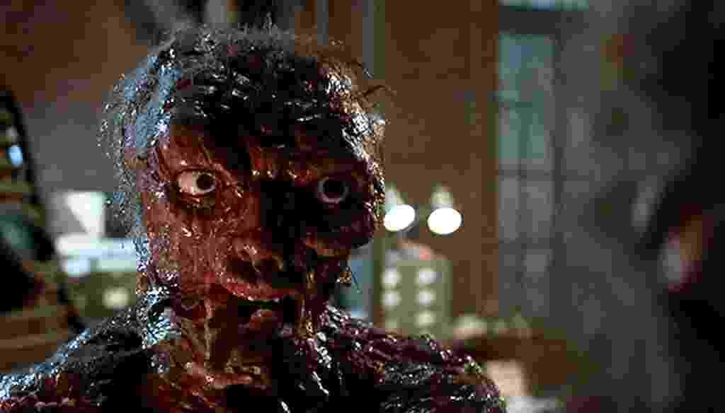 """Jeff Goldblum em """"A Mosca"""" (1986) - Divulgação"""
