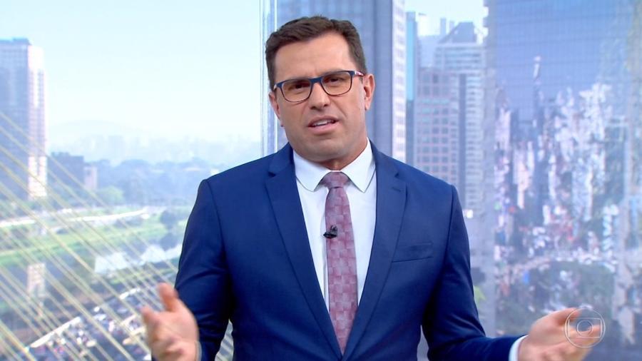 Rodrigo Bocardi - Reprodução/Globo