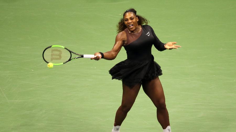 Serena Williams de tutu em partida do U.S. Open - Getty Images