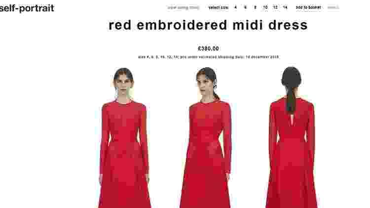 Vestido Meghan - Reprodução - Reprodução
