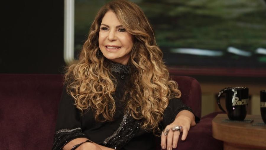 "Elba Ramalho no ""Programa do Porchat"" - Antonio Chahestian/Record TV"