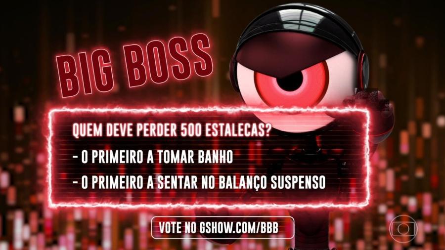 """Tiago Leifert apresenta as opções do primeiro Big Boss do """"BBB19"""" - Reprodução/TvGlobo"""