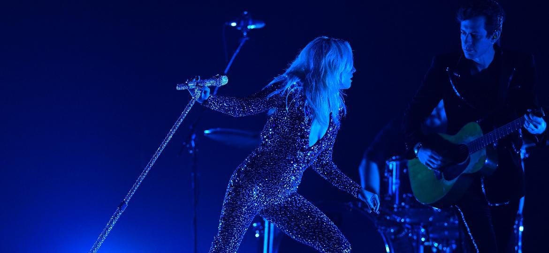 Lady Gaga se apresenta no Grammy 2019 - Getty Images