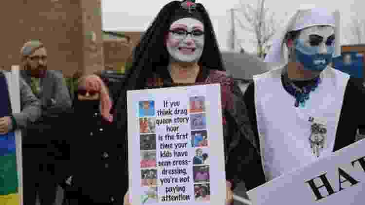 Segundo organizadores do evento, a ideia é mostrar para as crianças de Greenville que existe diversidade na cidade - BBC - BBC