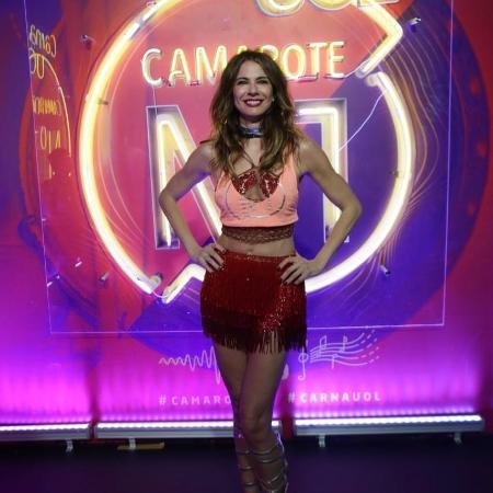 Camarote CarnaUOL N1 - Luciana Gimenez  - Matias Maxx