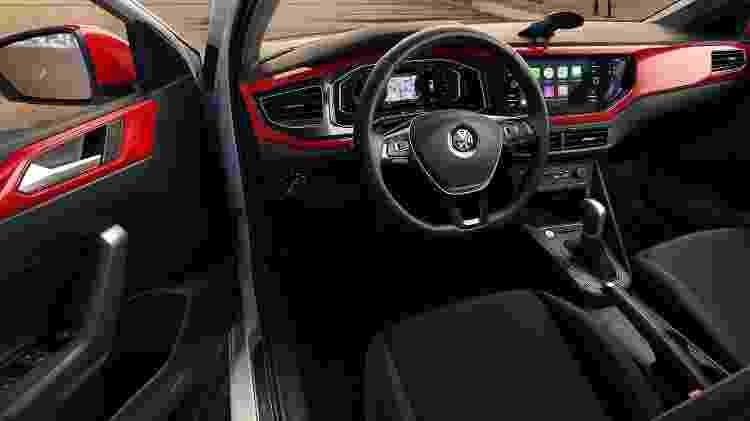 Volkswagen Polo Beats interior - Divulgação - Divulgação