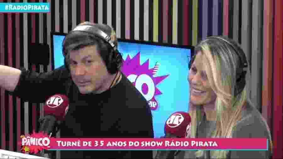 Paulo Ricardo foi o convidado do Pânico, na Jovem Pan - Reprodução