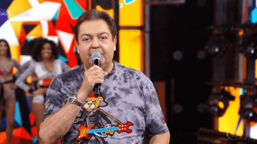 Faustão costuma fazer brincadeiras com ex-funcionárias; piadas renderam pelo menos três processos contra a Rede Globo - Reprodução/TV Globo