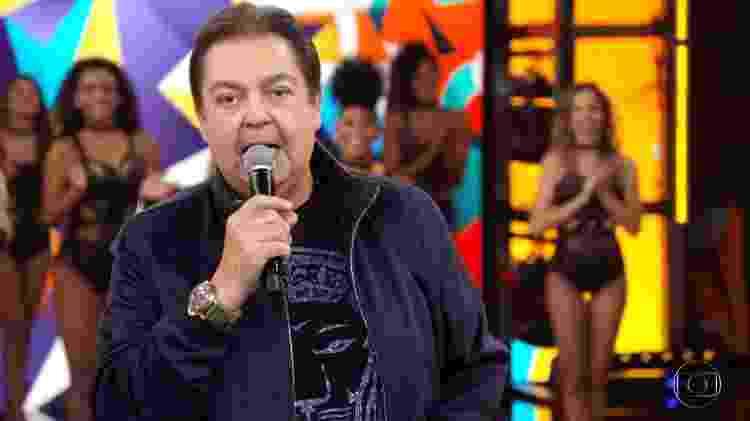Faustão - Reprodução/TV Globo - Reprodução/TV Globo