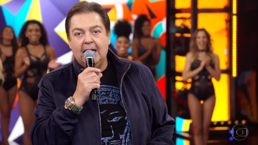 """Faustão apresenta o """"Domingão"""" - Reprodução/TV Globo"""