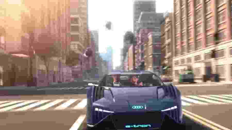 Audi RSQ e-tron concept do filme Um Espião Animal - Reprodução
