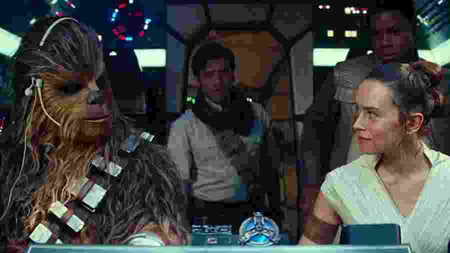 Cena de Star Wars: A Ascensão SkyWalker - Divulgação