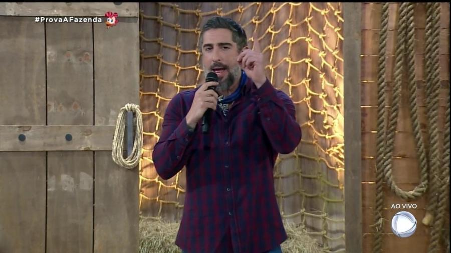Marcos Mon apresenta A Fazenda 2019 - Reprodução/RecordTV