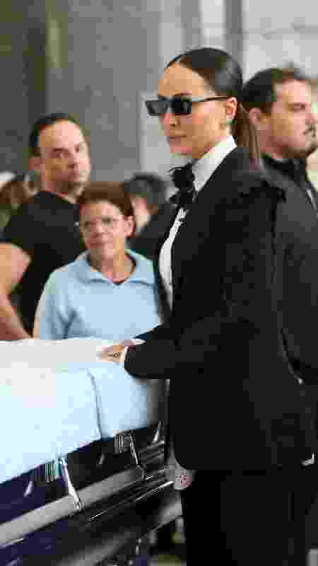 Sabrina Sato em velório ao corpo do apresentador Gugu Liberato, na Assembleia Legislativa de São Paulo (Alesp) - Manuela Scarpa e Marcos Ribas/Brazil News - Manuela Scarpa e Marcos Ribas/Brazil News
