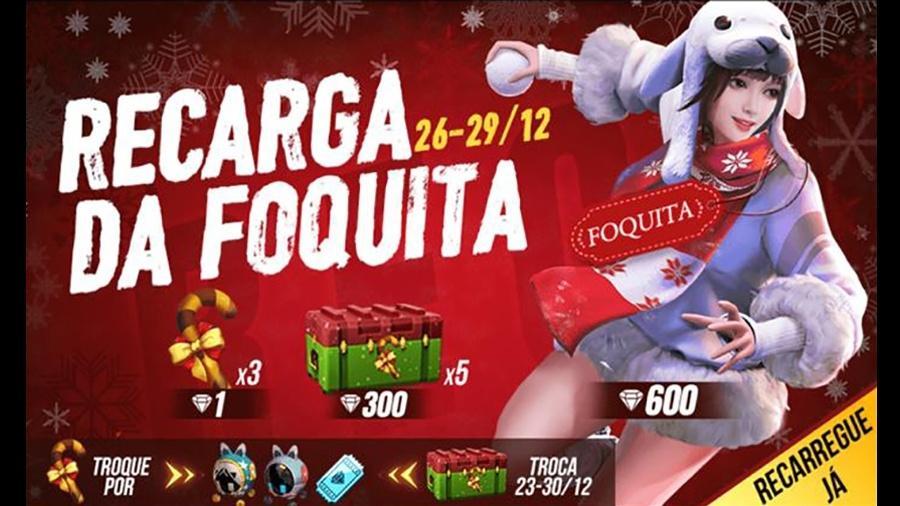 Free Fire Foquita - Reprodução