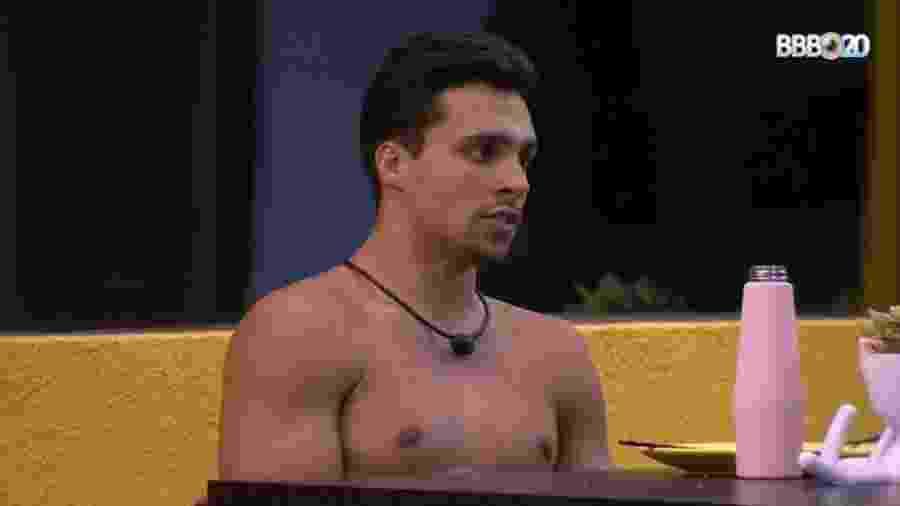 BBB 20: Petrix espera contar com a ajuda do público para permanecer no jogo caso vá para o paredão - Reprodução/GlobosatPlay