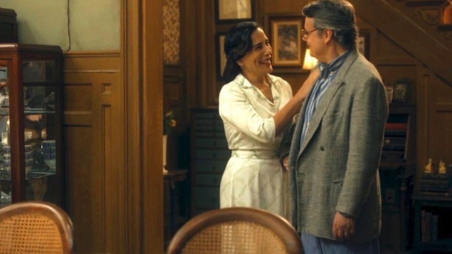 Lola e Afonso, de Éramos Seis - Reprodução / TV Globo