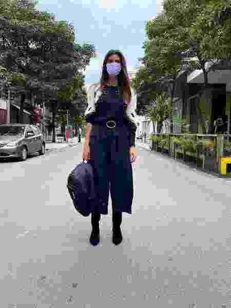 """Fiorentino mostra bastidores do """"Esquadrão da Moda"""" durante a pandemia - Reprodução / Instagram"""