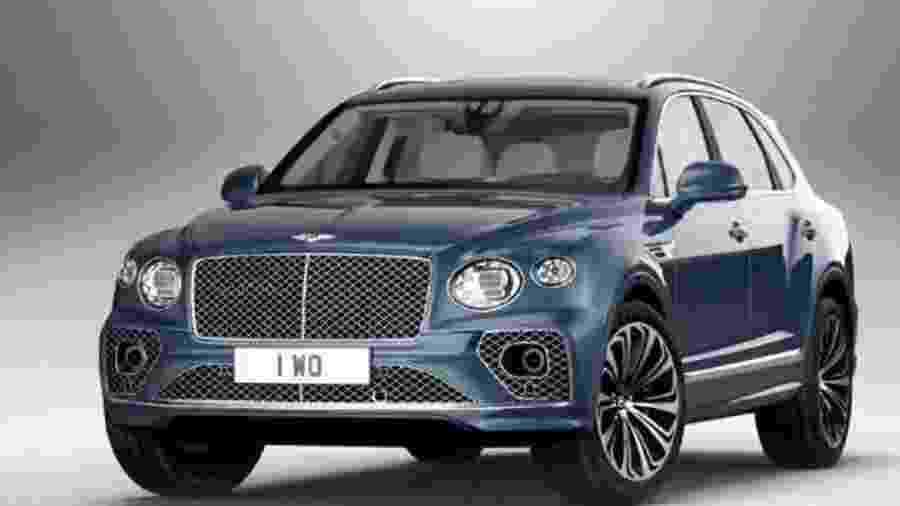Bentley Bentayga tem foros vazadas - Reprodução