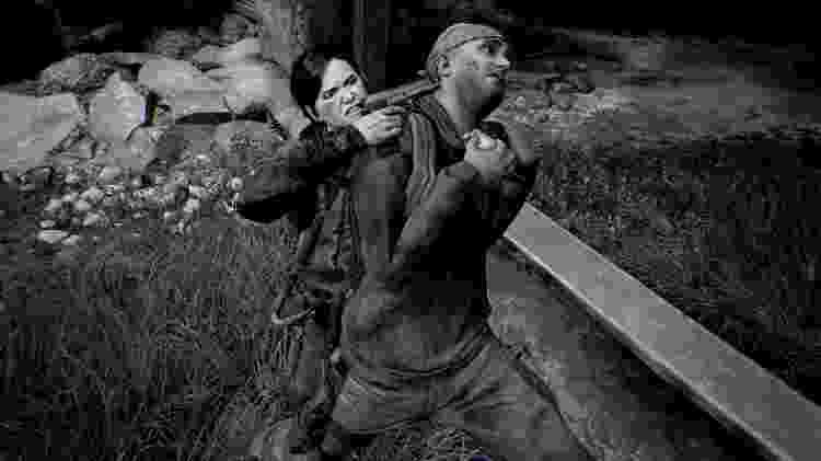 The Last of Us Part II Ellie e inimigo - Reprodução - Reprodução