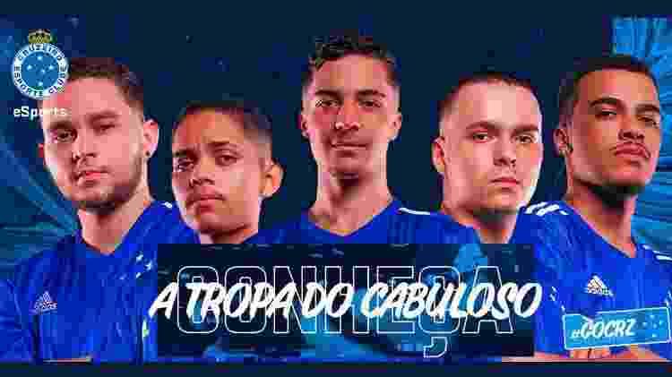 Cruzeiro LBFF - Divulgação/Twitter - Divulgação/Twitter