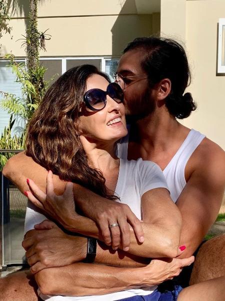 Fátima Bernardes posta foto romântica com o namorado, o deputado federal Túlio Gadêlha (PDT-PE) - Reprodução/Instagram
