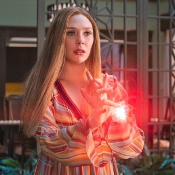 Elizabeth Olsen como Wanda Maximoff em 'WandaVision'