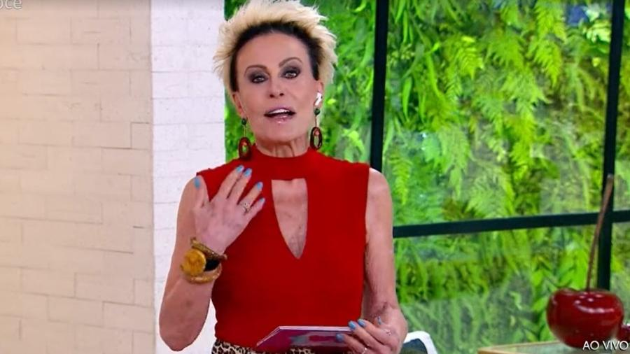 BBB 21: Ana Maria Braga errou o nome de Viih Tube e a chamou de YouTube - Reprodução/TV Globo