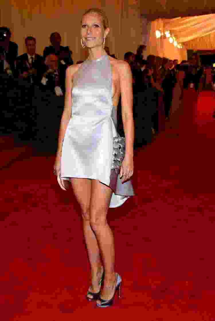 Gwyneth Paltrow no MET gala 2012 - Reprodução/GettyImages/Divulgação - Reprodução/GettyImages/Divulgação
