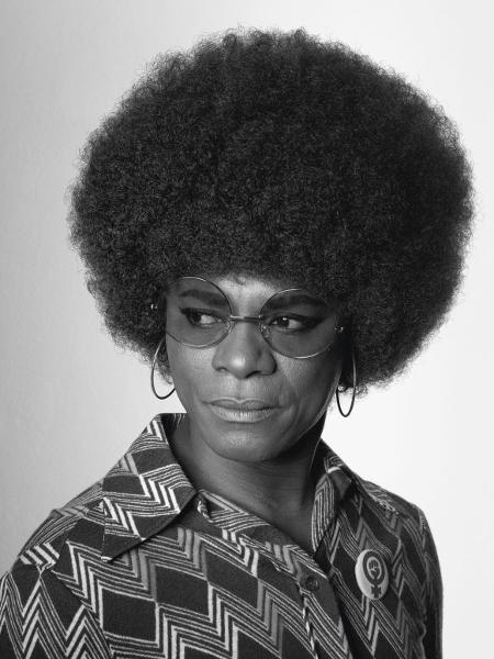 African Spirits , 2008, releitura de Angela Davis em uma foto icônica - Samuel Fosso