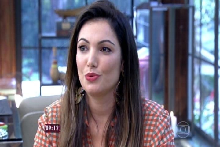 Patrícia Poeta fala sobre o programa
